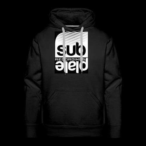 Subplate Recordings - Logo Black - Men's Premium Hoodie
