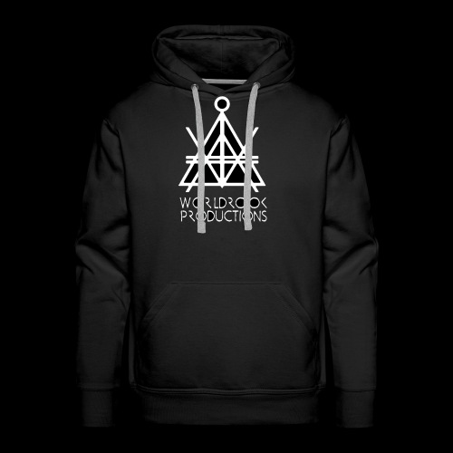 Worldrook Traditional, Black Fill - Men's Premium Hoodie