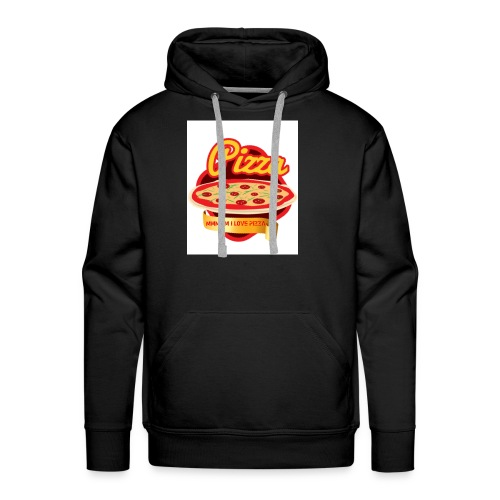 Ummm I love Pizza! - Men's Premium Hoodie