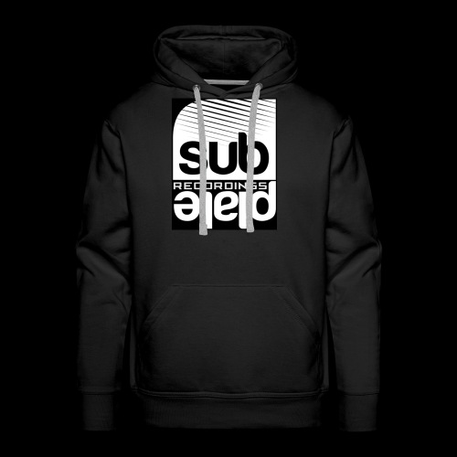 Subplate Recordings - Logo Black - Men's Premium Hoodie