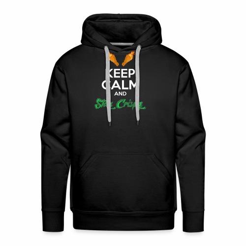 Keep Calm and Stay Crispy - Men's Premium Hoodie