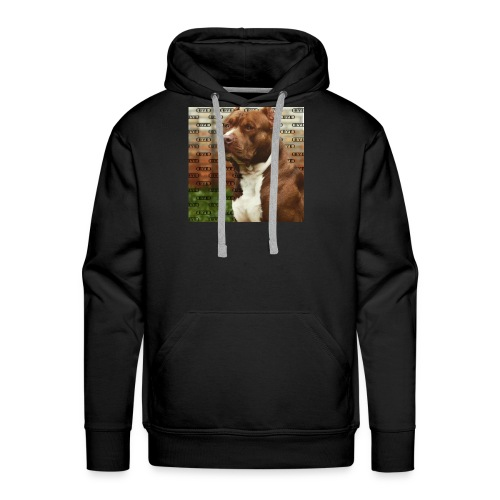 Pitbull- Faith Thread - Men's Premium Hoodie