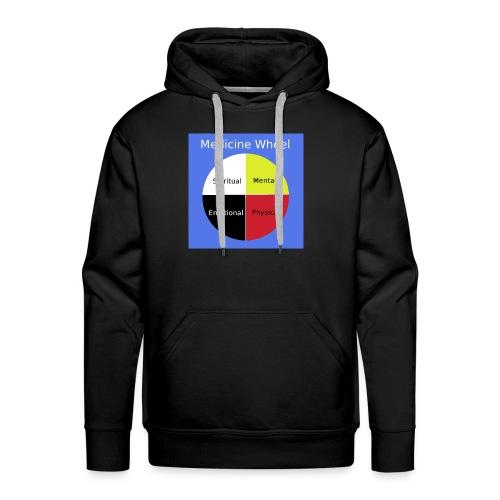 Native Medicine Wheel - Men's Premium Hoodie