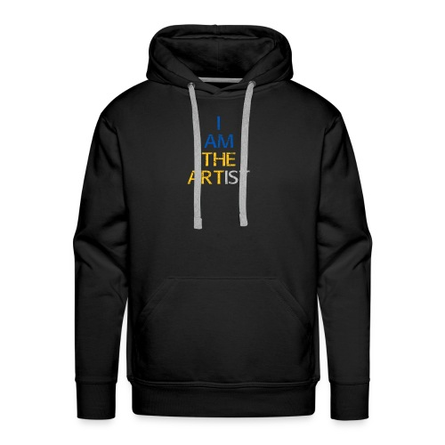 I Am The Artist -Text Only - Men's Premium Hoodie