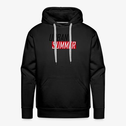 Urban Summer Logo - Men's Premium Hoodie
