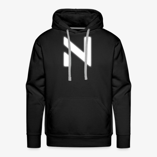 Nestion White - Men's Premium Hoodie