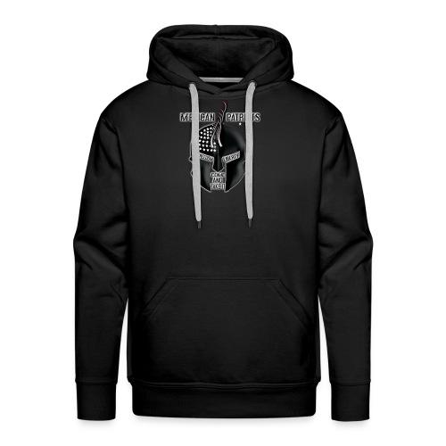 merican patriots logo - Men's Premium Hoodie