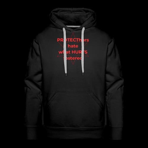 108-lSa Inspi-Shirt-74 PROTECThors HATE - Men's Premium Hoodie