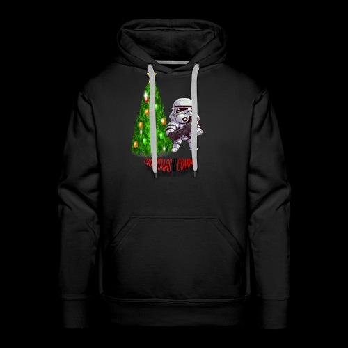 StarWars #ChristmasIsComing - Men's Premium Hoodie