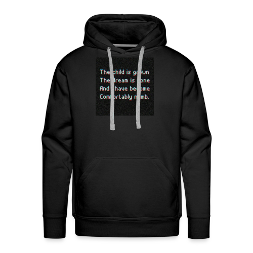 ELIAAZZ - comforably numb - Men's Premium Hoodie