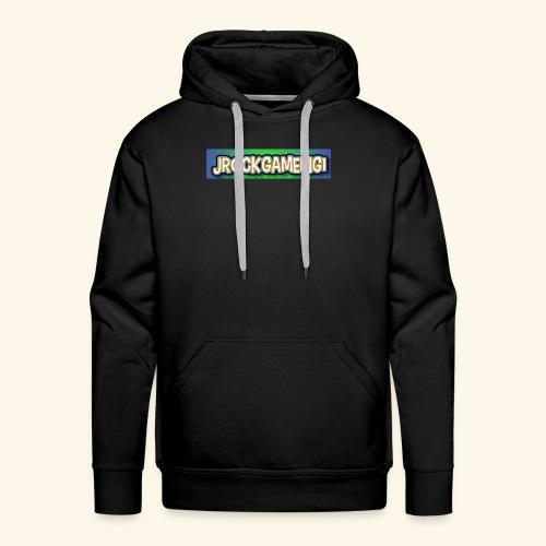 JrockGameing1 logo - Men's Premium Hoodie
