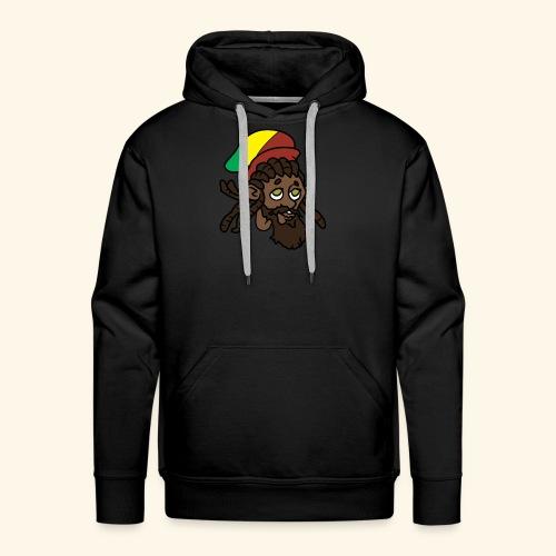 Rasta Ricky Head Logo - Men's Premium Hoodie