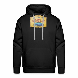 camp crystal lake sign - Men's Premium Hoodie