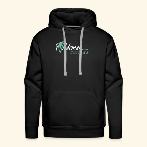 Wildeman Guitars Color Logo - Men's Premium Hoodie
