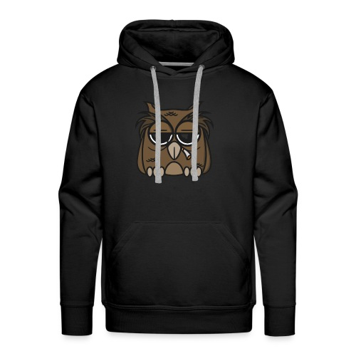 Smoking Owl - Men's Premium Hoodie