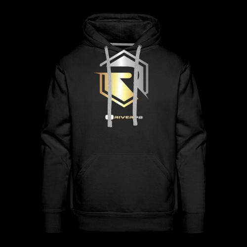 Gold/Silver Logo YouTube - Men's Premium Hoodie
