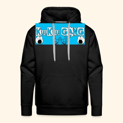 kuukuu gang blue - Men's Premium Hoodie