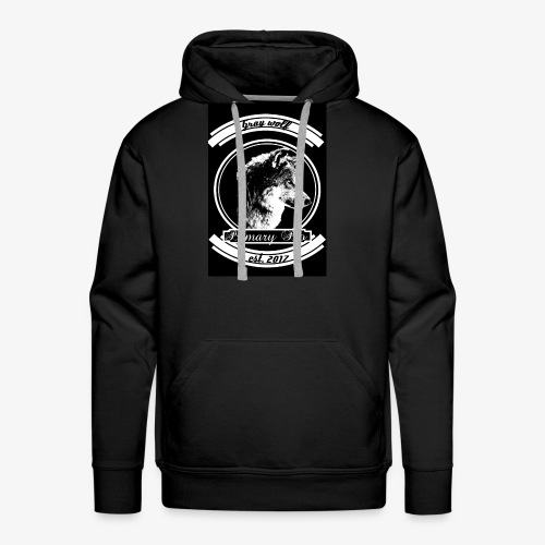 Grey Wolf - Men's Premium Hoodie