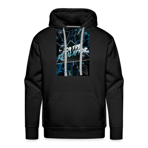 Wait for the drop Revalaytor series T-SHIRT - Men's Premium Hoodie