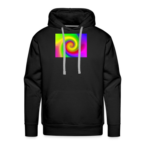 color swirl - Men's Premium Hoodie