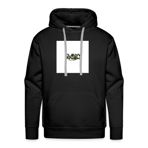 Clean Finish Est 2017 - Men's Premium Hoodie