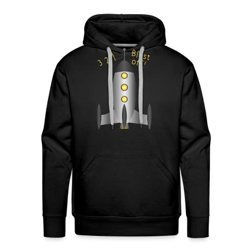 Rocket Blast Off - Men's Premium Hoodie