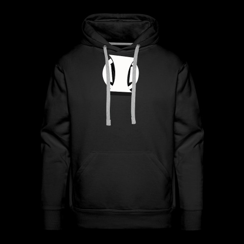 White Identity Logo - Men's Premium Hoodie
