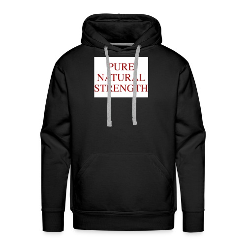 Natural Strength - Men's Premium Hoodie