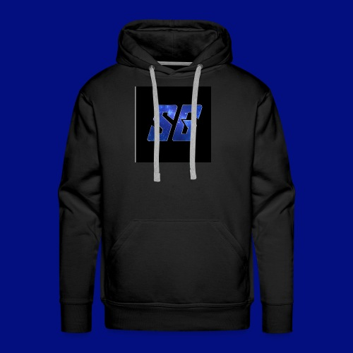 Sideways Gamer Logo - Men's Premium Hoodie