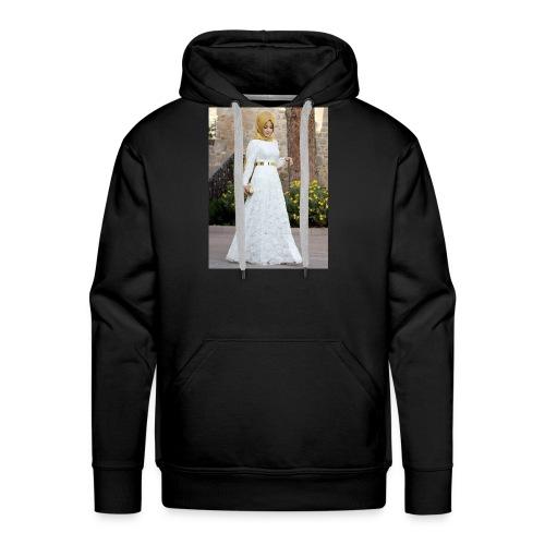 Muslim Hijab Girl - Men's Premium Hoodie
