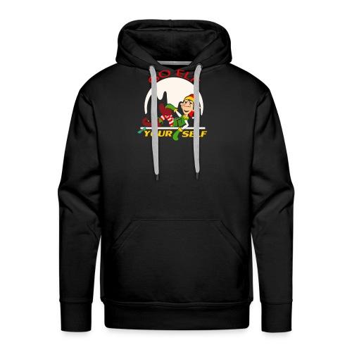 Go Elf Your self mery cristmas - Men's Premium Hoodie