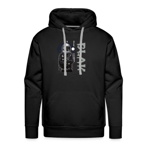 BLAK space bound - Men's Premium Hoodie