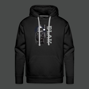 Space bound BLAK - Men's Premium Hoodie