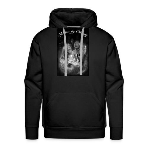 Tattoos by Chucky Holden zombie pathologists - Men's Premium Hoodie