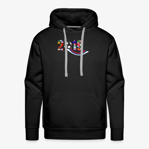 World Football Soccer Championship 32 Countries - Men's Premium Hoodie