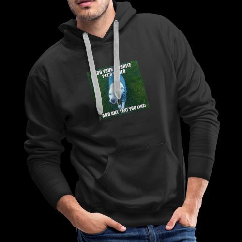Your dog goes here - Men's Premium Hoodie