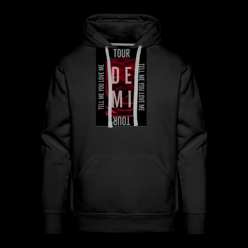 Demi Tell Me You Love Me Tour Shirt - Men's Premium Hoodie
