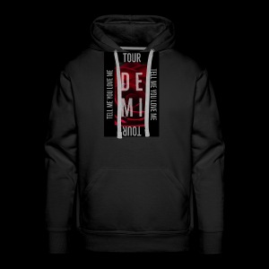 Demi Tell Me You Love Me Tour Shirt - Men's Premium Hoodie