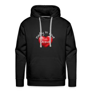 Madly In Love With Jesus - Men's Premium Hoodie