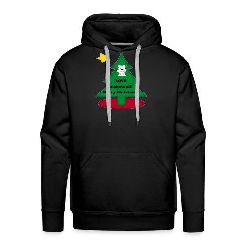 Christmas is love - Men's Premium Hoodie