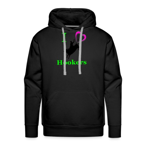 I_Love_Hookers2 - Men's Premium Hoodie