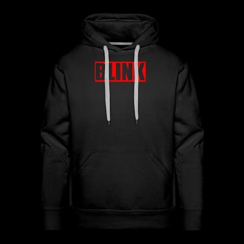 BLINK Red Box Logo - Men's Premium Hoodie