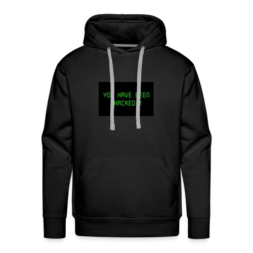 You have been hacked by dellySockx - Men's Premium Hoodie