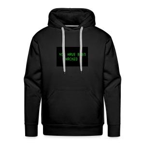 You have been hacked by dellySockx - Men's Premium Hoodie
