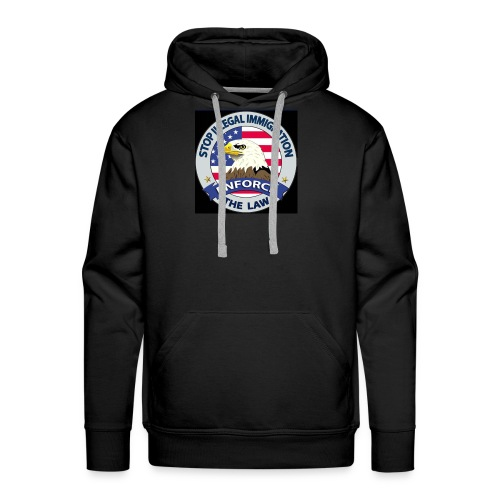 Stop Illegal Immigration - Men's Premium Hoodie