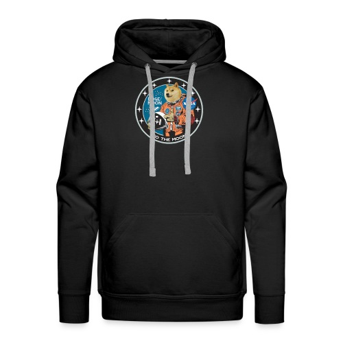 Doge to the Moon - Men's Premium Hoodie