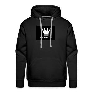 monarch with logo - Men's Premium Hoodie