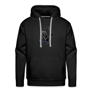 Black dog - Men's Premium Hoodie