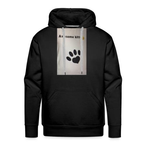 Stay Awesome kitties - Men's Premium Hoodie