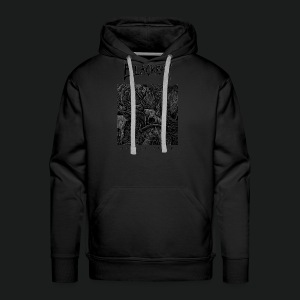 Mortal Curse Single Cover Design - Men's Premium Hoodie